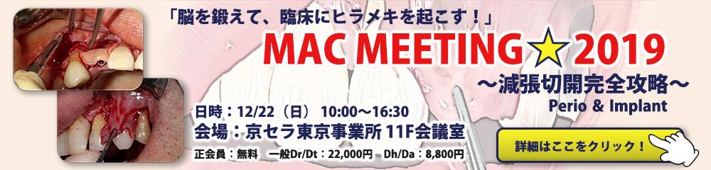 MAC MEETING 2019